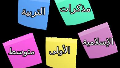 Photo of مذكرات التربية الاسلامية السنة الاولى متوسط الجيل الثاني