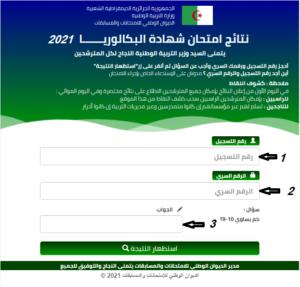 نتائج شهادة البكالوريا 2021 على الموقع bac.onec.dz