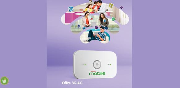 مودام الجيل الرابع موبيليس Navigui modem mobilis